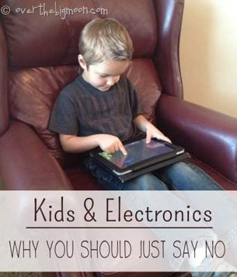 Kids and Electronics: Why you Should Consider Saying NO!