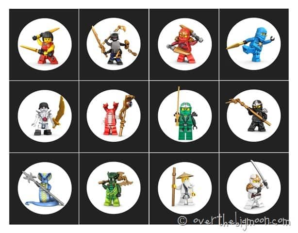 picture about Ninjago Eyes Printable titled Ninjago Birthday Social gathering with Free of charge Printables