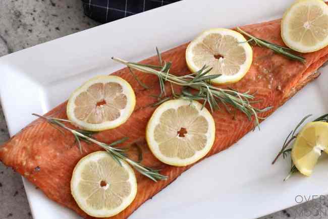 Sweet Rum Salmon