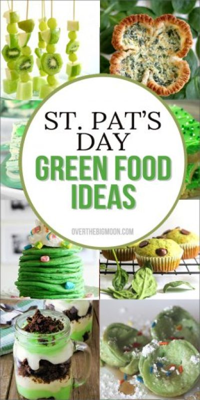 St. Patrick's Day Green Food Ideas!