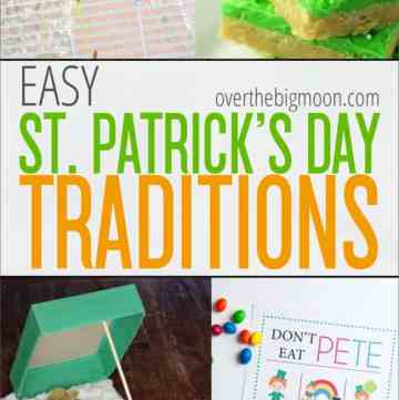 St. Patrick's Day does not have to be exhausting and overwhelming! Check out these fun and EASY St. Patrick's Day Traditions for fun ways to celebrate this LUCKY holiday!
