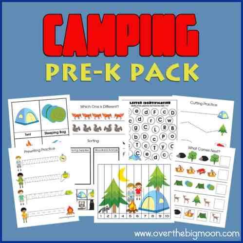 Camping-PreK-Pack