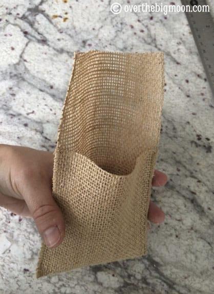 burlap-pouch