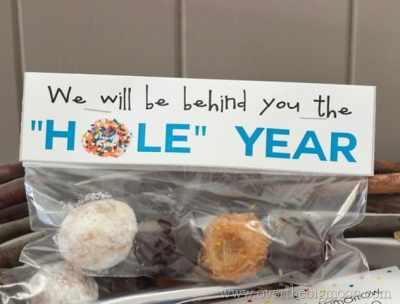 Donut Hole Teacher Gift