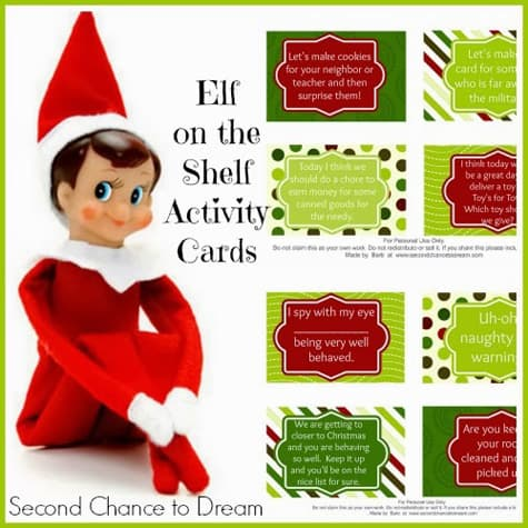 photo about Elf on the Shelf Printable Props known as 30+ Printable Elf upon the Shelf Programs More than The Substantial Moon