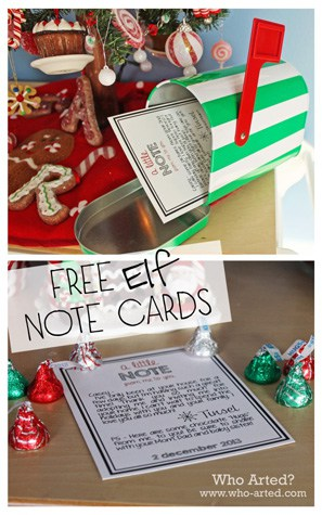 Elf-Note-Cards