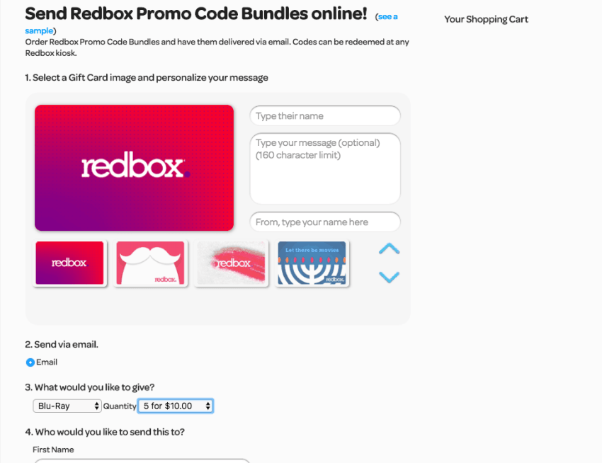 How to Purchase Redbox Codes | overthebigmoon.com