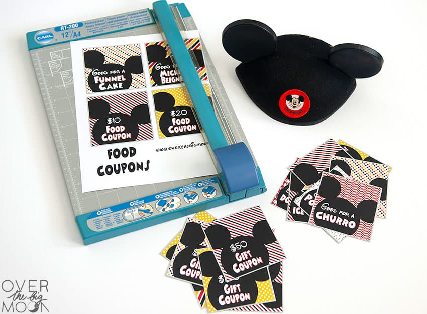 image about Disneyland Printable Coupons identified as Disneyland Coupon Printables - Previously mentioned the Massive Moon