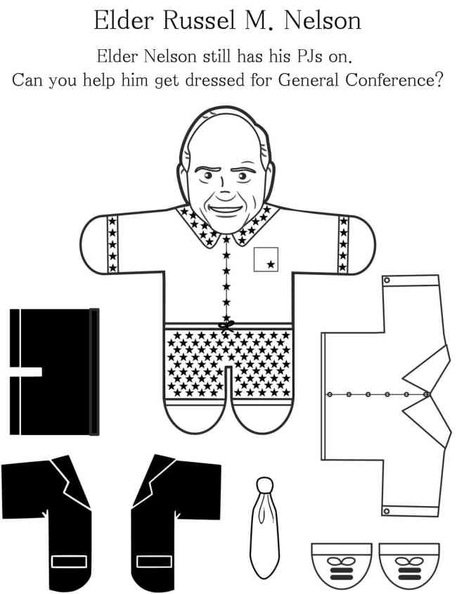 Lots of fun General Conference Activities for Kids from overthebigmoon.com!
