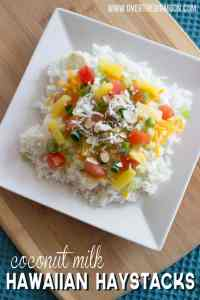 Coconut Milk Hawaiian Haystack Recipe