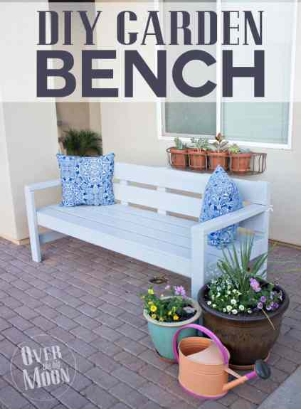 Enjoyable Diy Front Porch Bench Onthecornerstone Fun Painted Chair Ideas Images Onthecornerstoneorg