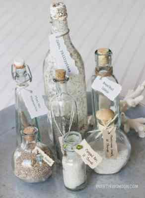 Beach Vacation Memory Bottles