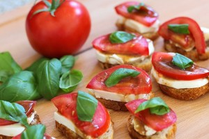 Balsamic Dressing Bruschetta