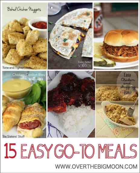Easy-Go-To-Meals