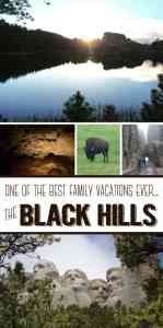 Why the Black Hills is one of the best Family Vacations EVER!