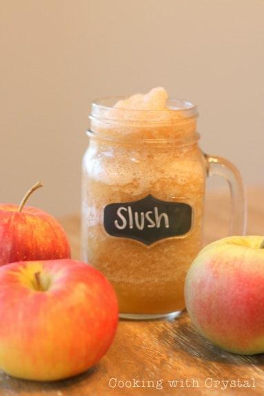 Apple Cider Slush