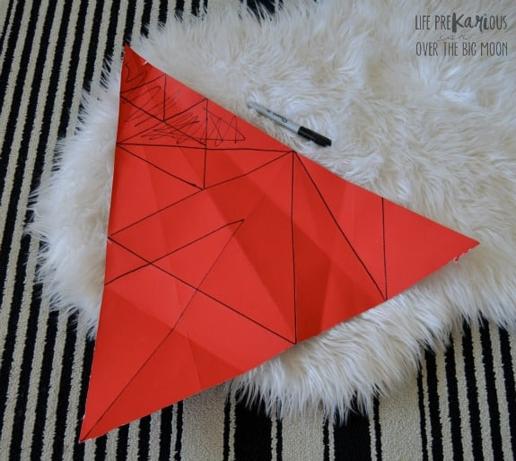 DIY Geometric Wooden Wall Decor