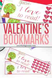These Valentine's Day Bookmark Punchcardare the perfect way to help your kids track their reading and help motivate them to learn to love to read!The basic heart designed can really be used all year though! From overthebigmoon.com!