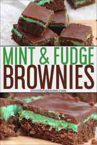 These Fudge and Mint Brownies are beyond delicious! They're rich, moist and full of flavor! We enjoy them year around, but always for St. Patrick's Day!