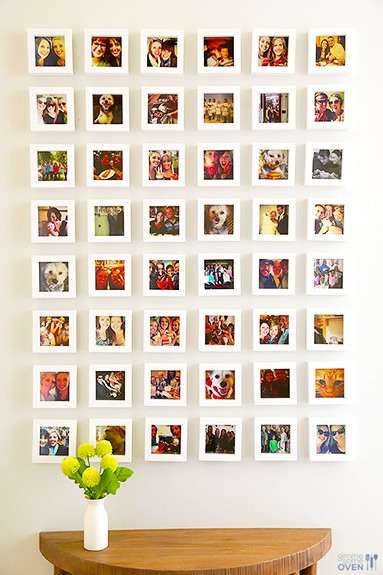 10 Awesome Instax or Instagram Display Ideas | www.overthebigmoon.com