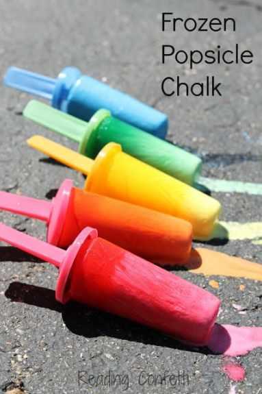 popsicle chalk 1