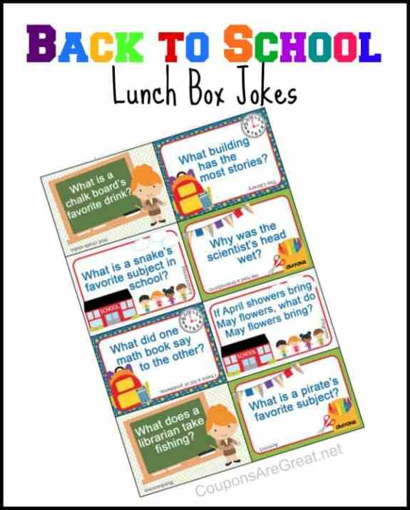 Lunchbox Jokes for all year long and for every season! From www.overthebigmoon.com!