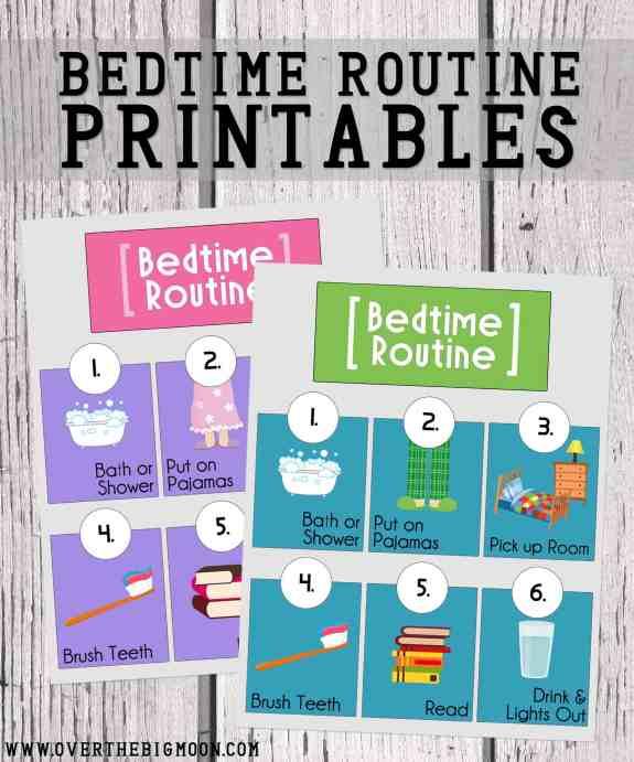 bedtime-routine-printables