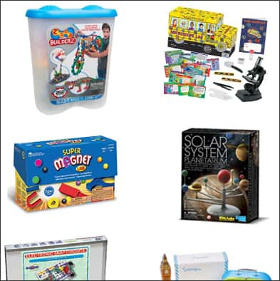 Great Educational Gift Ideas for Kids    www.overthebigmoon.com