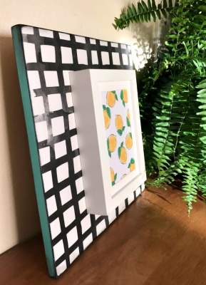 DIY Wooden Frame - such a versatile frame that can be customized!