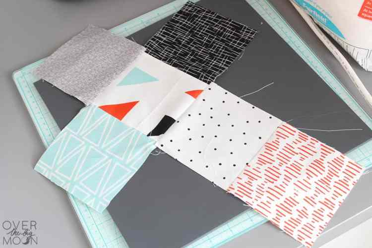 Come learn How to Make these DIY Baby Soft Blocks tutorial by hand or by using the Cricut Maker. From www.overthebigmoon.com