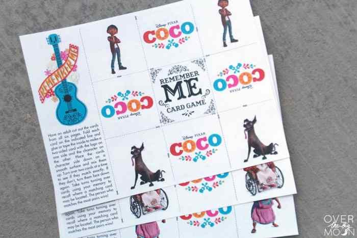 Disney·Pixar Coco Printables - Over the Big Moon