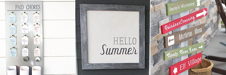 Cricut Projects from overthebigmoon.com!