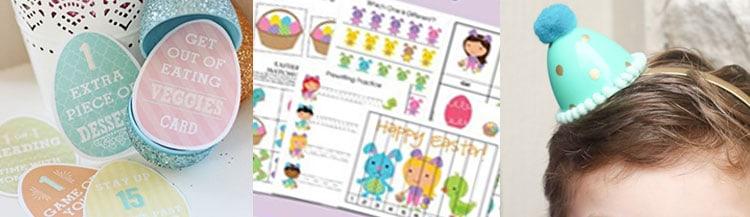 Easter Kids Activities - overthebigmoon.com!