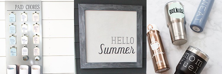 Cricut Project Ideas from overthebigmoon.com!