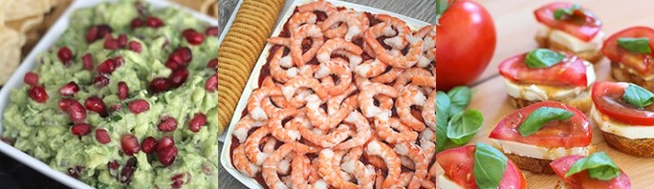 Popular Appetizer Recipes - these are perfect for parties, holidays or BBQ's! From overthebigmoon.com!