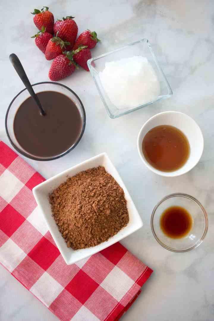 Paleo Chocolate Covered Strawberry Recipe