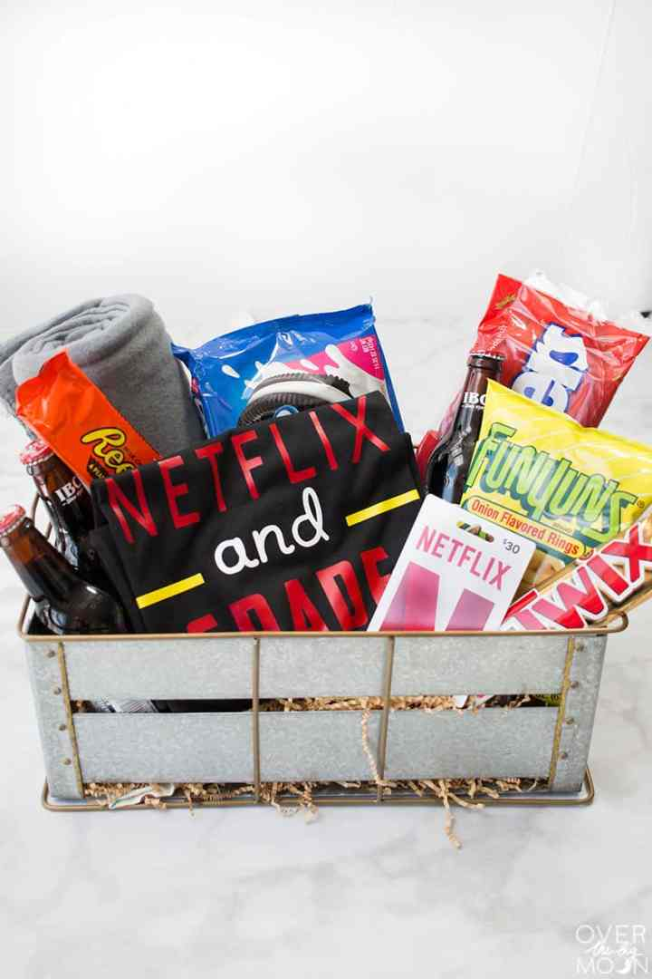 Netflix Teacher Gift Basket is perfect for the teachers first day of school, Christmas, Bday, Teacher Appreciation or Last Day of School gift!