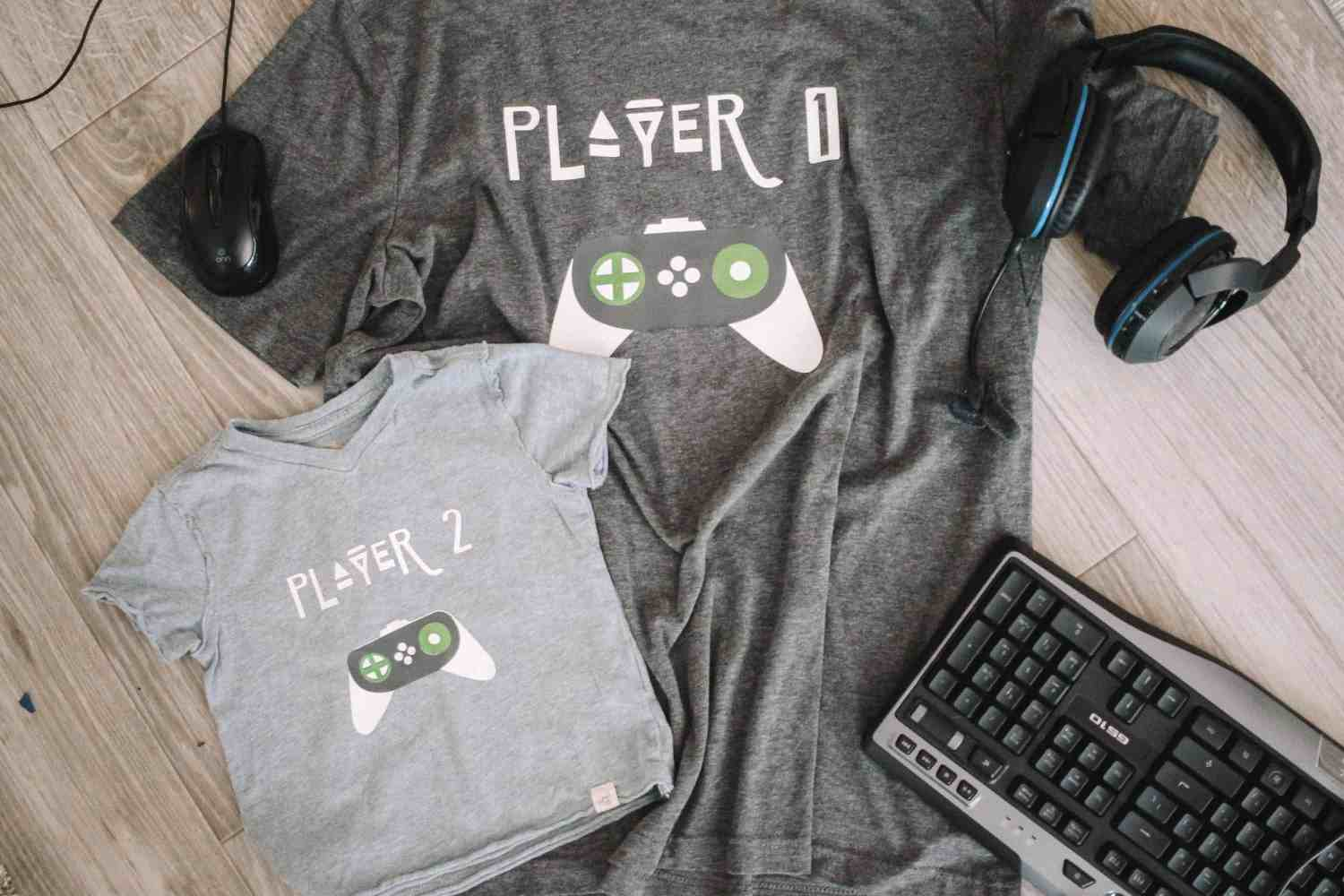 finished father son shirts