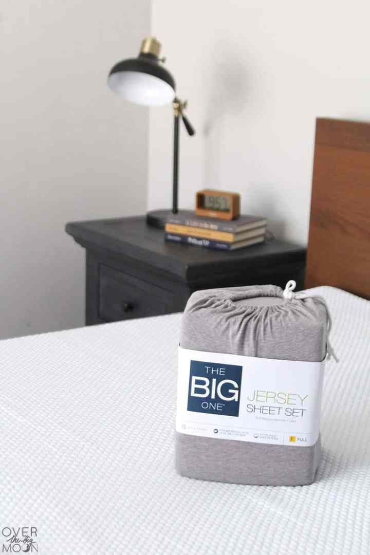 Getting new sheets is like getting your hair done! You feel like a whole new person! These Jersey sheets feel like butter! From overthebigmoon.com!