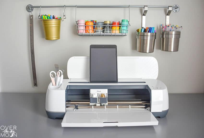 Cricut Maker Machine - the best crafting and organizing tool! From overthebigmoon.com!