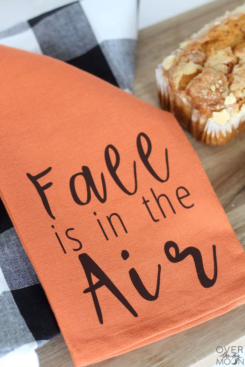 Fall is in the Air Gift Idea or DIY project fro the kitchen! From overthebigmoon.com!