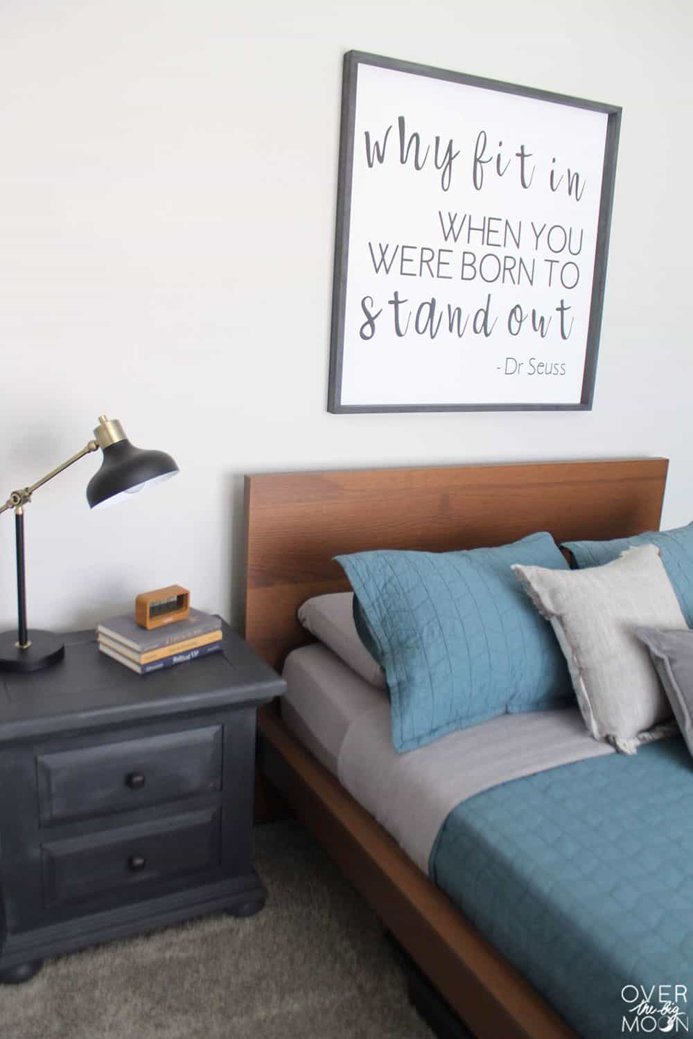A Simple Room Refresh -- come learn 5 simple ways to do it on a budget! From overthebigmoon.com!