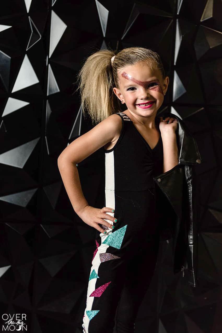 Little Rocker Costume - perfect for Halloween! From overthebigmoon.com!