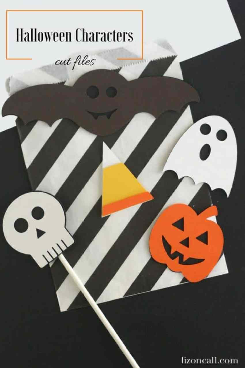50+ Halloween Cricut Crafts | Over the Big Moon