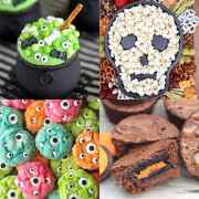 The BEST Halloween Treats - perfect for family parties, classroom parties or just a family Halloween treat! From overthebigmoon.com!