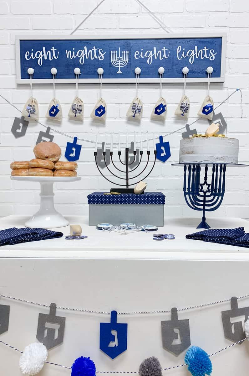 Hanukkah Celebration Ideas from overthebigmoon.com!