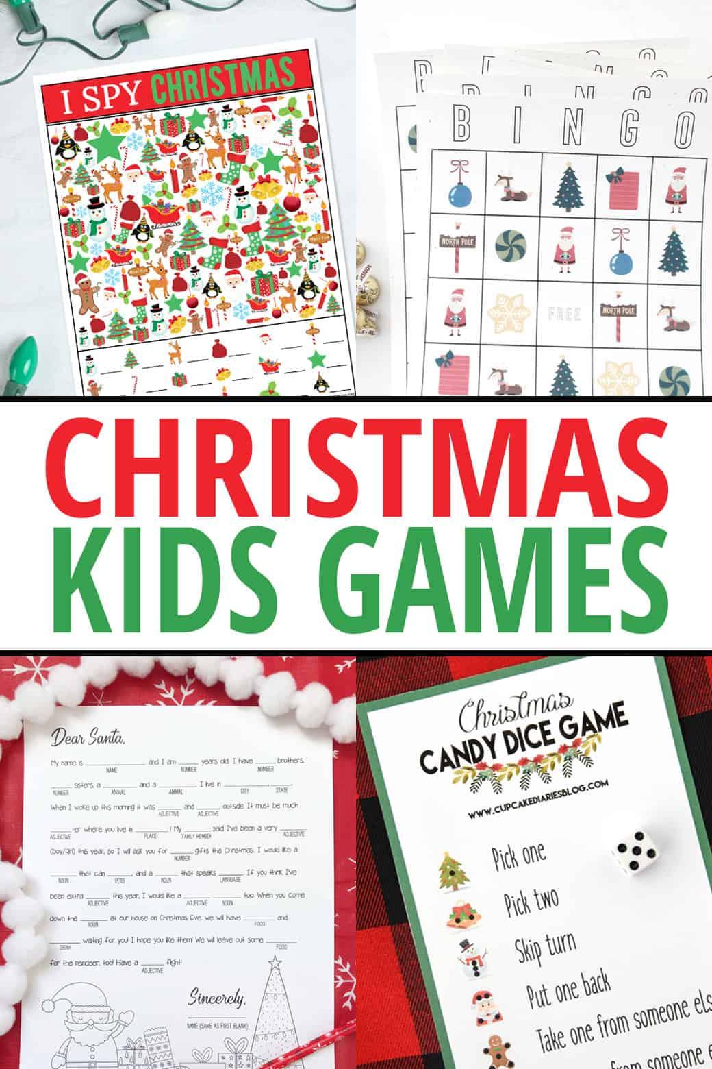 Christmas I Spy Printable Game