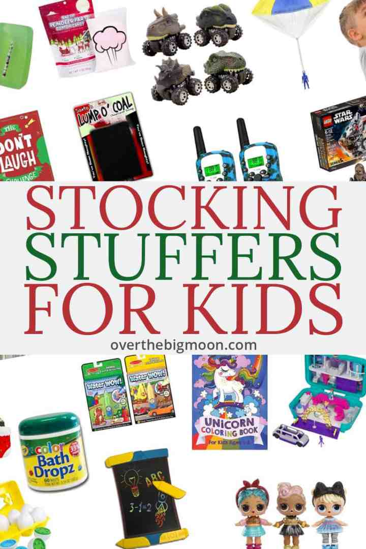 Easy and Affordable Stocking Stuffer Ideas for Kids! We've got funny stocking stuffers, stockings stuffers for girls, stocking stuffers for boys and stocking stuffers for young kids!