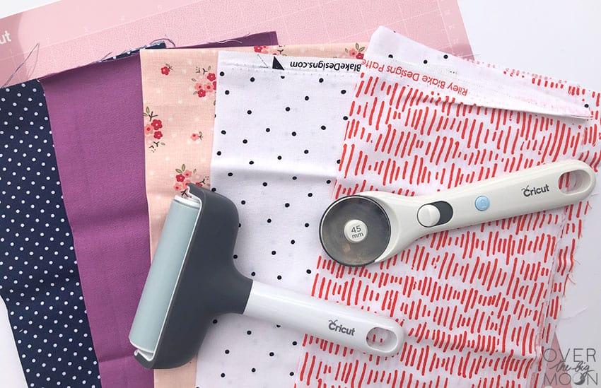Designer Fabrics from Cricut to make Hand Warmers!