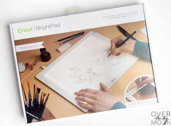 Cricut BrightPad - from overthebigmoon.com
